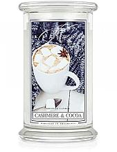 Profumi e cosmetici Candela profumata in vetro - Kringle Candle Cashmere & Cocoa