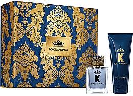 Profumi e cosmetici Dolce & Gabbana K by Dolce & Gabbana - Set (edt/50ml + a/sh/balm/75ml)