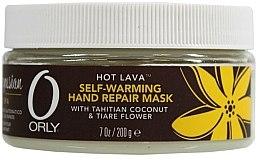 Profumi e cosmetici Maschera mani rigenerante (calda) - Orly Hot Lava Self-Warming Hand Repair Mask