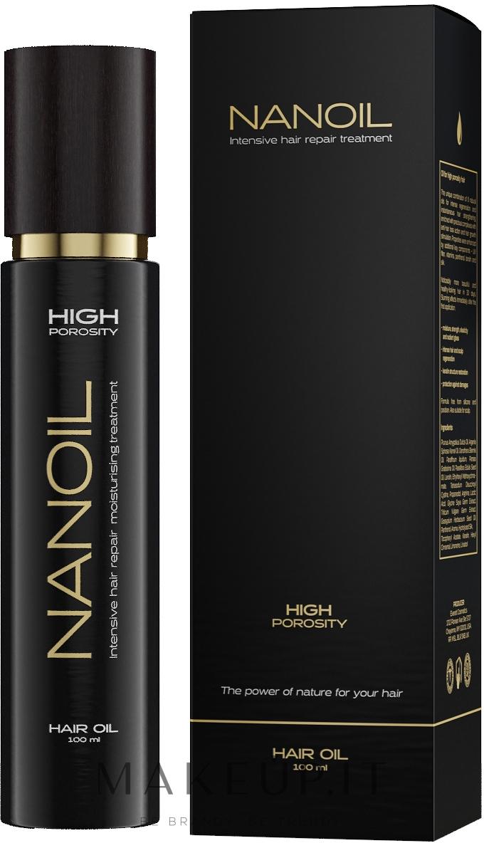 Olio per capelli ad alta porosità - Nanoil Hair Oil High Porosity — foto 100 ml