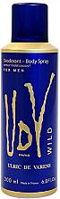 Profumi e cosmetici Ulric de Varens UDV Wild - Deodorante