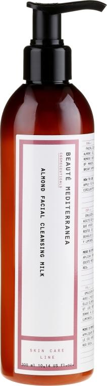Latte viso detergente alle mandorle - Beaute Mediterranea Almond Facial Cleansing Milk