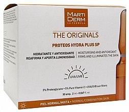 Profumi e cosmetici Fiale solari per il viso - MartiDerm The Originals Proteos Hydra Plus SP