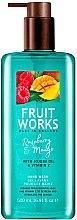 "Profumi e cosmetici Sapone mani ""Lampone e Mango"" - Grace Cole Fruit Works Hand Wash Raspberry & Mango"