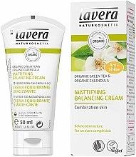 "Profumi e cosmetici Crema viso ""Tè Verde"" - Lavera Mattifying Balancing Cream Green Tea"