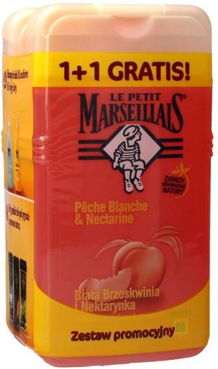 "Set ""Pesca bianca e nettarina"" - Le Petit Marseillais (sh/gel/250ml + sh/gel/250ml)"