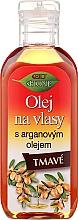 Profumi e cosmetici Olio per capelli scuri - Bione Cosmetics Keratin + Argan Oil