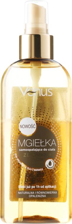 Spray corpo con particelle d'oro e olio di argan - Venus