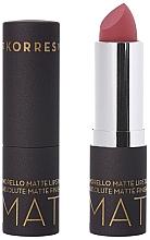 Profumi e cosmetici Rossetto opaco - Korres Morello Matte Lipstick