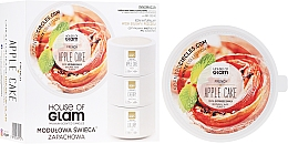 Profumi e cosmetici Candela profumata - House of Glam French Apple Cake Candle