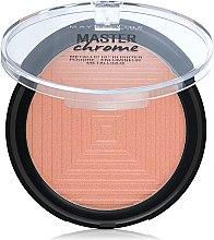 Profumi e cosmetici Illuminante viso - Maybelline Face Studio Master Chrome Metallic Highlighter