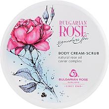 Profumi e cosmetici Crema-scrub corpo - Bulgarian Rose Signature Spa Body Cream-Scrub
