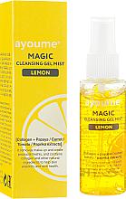 Profumi e cosmetici Gel-mist detergente viso al limone - Ayoume Magic Cleansing Gel Mist Lemon