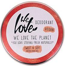 Profumi e cosmetici Deodorante naturale in crema - We Love The Planet Deodorant Sweet & Soft
