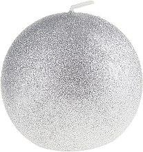 """Profumi e cosmetici Candela decorativa """"Glamorous ball"""", argento, 10 cm - Artman Glamour"""