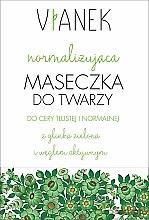 Profumi e cosmetici Maschera normalizzante per viso - Vianek