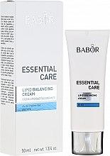 Profumi e cosmetici Crema per la pelle secca - Babor Essential Care Lipid Balancing Cream