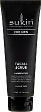 Profumi e cosmetici Scrub viso - Sukin For Men Facial Scrub