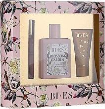 Profumi e cosmetici Bi-es Blossom Garden - Set (edp/100ml + sh/gel50 ml + parfum/12ml)