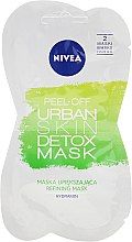 Profumi e cosmetici Maschera peel off per viso - Nivea Urban Skin Peel Off Detox Mask