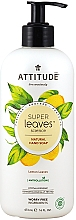Profumi e cosmetici Sapone liquido per le mani con foglie di limone - Attitude Super Leaves Natural Lemon Leaves Hand Soap