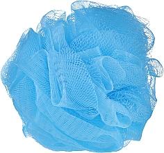 Profumi e cosmetici Spugna da bagno, blu - IDC Institute Design Mesh Pouf Bath Sponges
