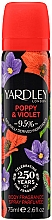 Profumi e cosmetici Yardley Poppy & Violet - Deodorante