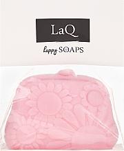 """Sapone naturale fatto a mano """"Borsa"""" con aroma di ciliegia - LaQ Happy Soaps Natural Soap — foto N1"""
