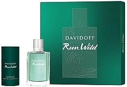 Profumi e cosmetici Davidoff Run Wild Men - Set (edt/100ml + deo/70g)