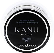 Profumi e cosmetici Shampoo per capelli normali, in scatola di metallo - Kanu Nature Shampoo Bar Toxic Glamour For Normal Hair