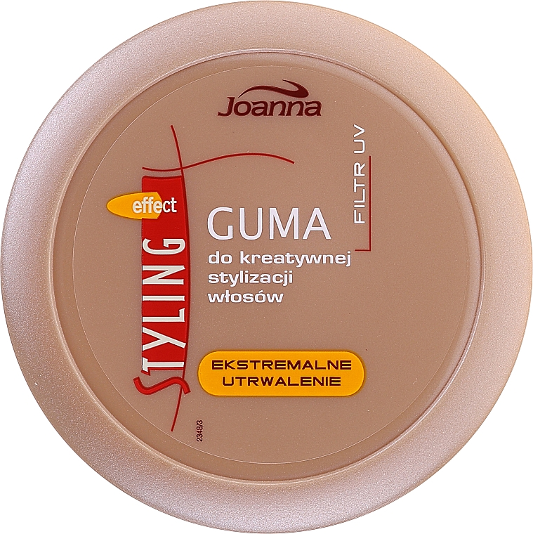 Gomma styling dei capelli - Joanna Styling Effect Creative Hair Styling Gum Extreme Fixation