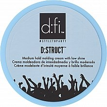 Profumi e cosmetici Crema-styling dei capelli - D:fi D:struct Medium Hold Molding Cream
