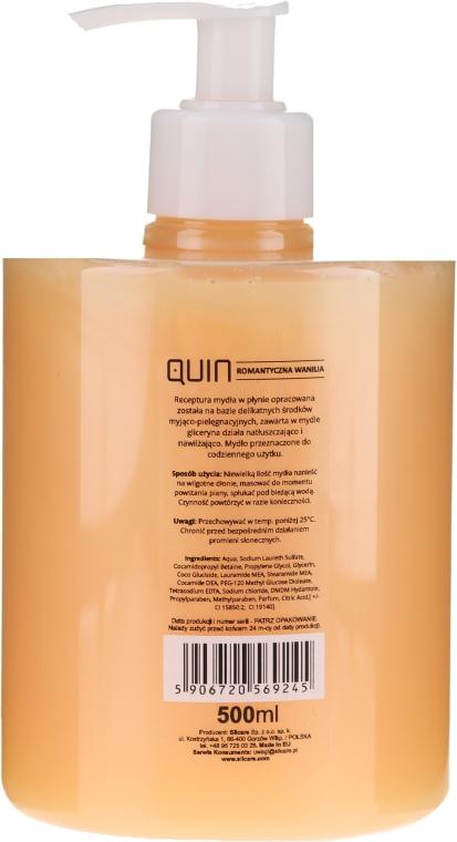 """Sapone liquido per mani """"Romantic Vanilla"""" - Silcare Quin Romantic Vanilla Liquid Hand Soap — foto N2"""