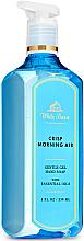 Profumi e cosmetici Sapone-gel per mani - Bath and Body Works White Barn Crisp Morning Air Gentle Gel Hand Soap