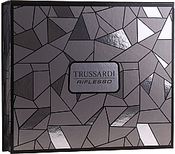 Profumi e cosmetici Trussardi Riflesso - Set (edt/50ml + sh/gel/100ml)