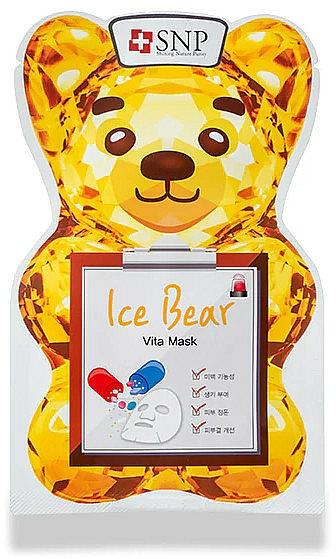 Maschera viso vitaminica - SNP Ice Bear Vita Mask — foto N1