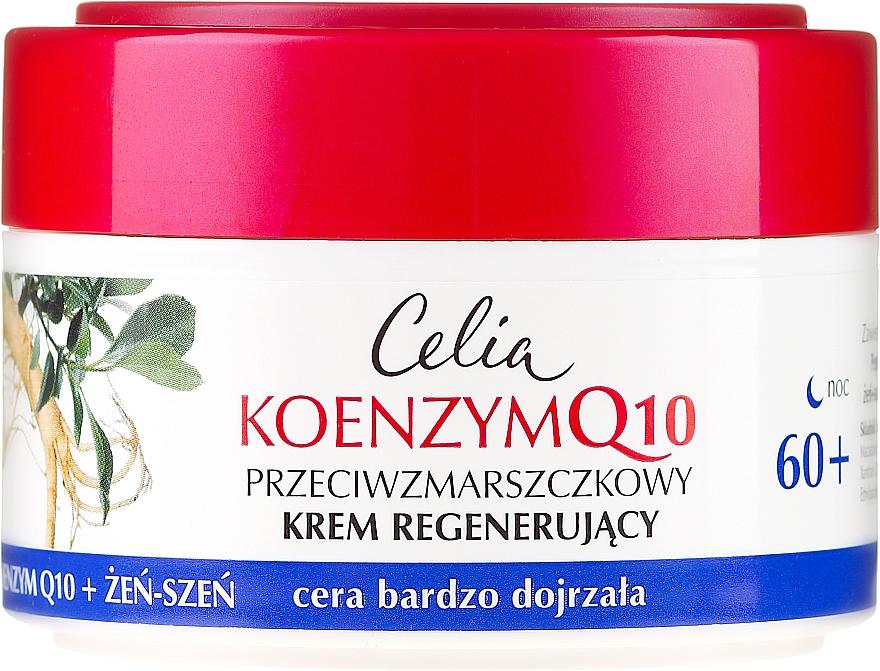 Crema rigenerante, da notte - Celia Coenzyme Q10 60+