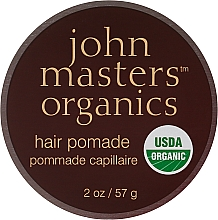 Profumi e cosmetici Pomata per nutrire e levigare i capelli secchi e cattivi - John Masters Organics Hair Pomade