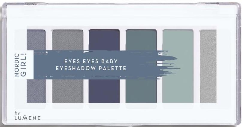 Palette di ombretti, 6 colori - Lumene Nordic Girl! Eyes Eyes Baby Eyeshadow Palette