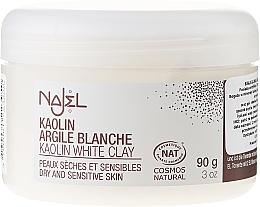 """Profumi e cosmetici Argilla cosmetica """"Bianca"""" - Najel Clay In Powder White"""