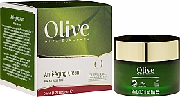 Profumi e cosmetici Crema antietà per tutti i tipi di pelle - Frulatte Olive Anti-Aging Cream