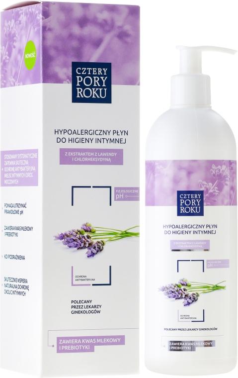 "Detergente intimo ""Lavanda"" - Cztery Pory Roku Lavender Intimate Hygiene Wash"