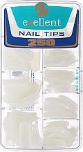 Profumi e cosmetici Tips per unghie, d/k - Silcare Tipsy Exellent Natural