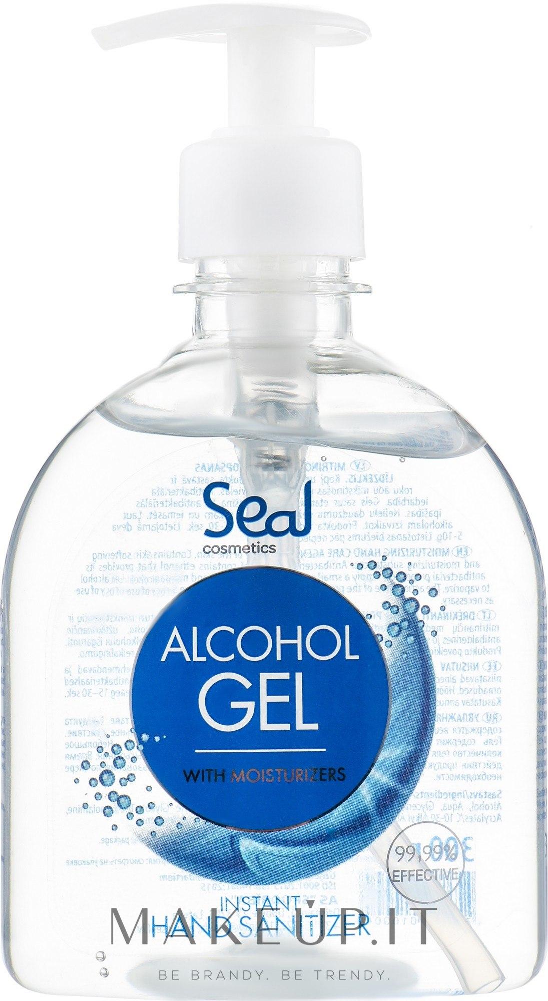 Gel disinfettante per le mani - Seal Cosmetics Alcohol Gel Hand Sanitizer — foto 300 ml