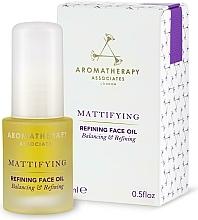 Profumi e cosmetici Olio detergente viso opacizzante - Aromatherapy Associates Mattifying Refining Face Oil