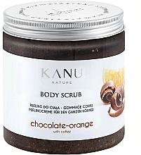 """Profumi e cosmetici Scrub corpo """"Cioccolato e arancia"""" - Kanu NatureBody Scrub"""