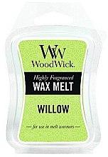 Profumi e cosmetici Cera profumata - WoodWick Wax Melt Willow