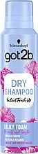 "Profumi e cosmetici shampoo secco -mousse ""Volume setoso"" - Schwarzkopf Got2b Fresh it Up! Dry Shampoo Silky Foam"