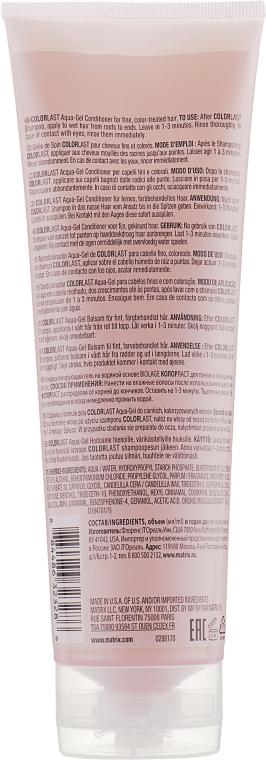Balsamo-gel per capelli - Biolage Colorlast Aqua Gel Conditioner — foto N2