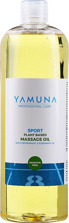 """Olio da massaggio """"Menta piperita e rosmarino"""" - Yamuna Peppermint Rosemary Vegetable Massage Oil"""